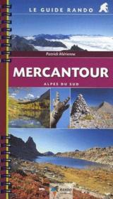 Guide Rando Mercantour - Couverture - Format classique