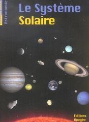 Le systeme solaire - Intérieur - Format classique