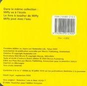 Coucou Miffy - 4ème de couverture - Format classique