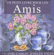 Petit Livre Pour Les Amis - Intérieur - Format classique