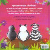 Qui Rend Visite A La Fleur ? - 4ème de couverture - Format classique
