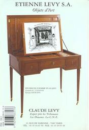 Colliers ethniques - 4ème de couverture - Format classique