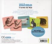 Le jeu de mémo ; l'arche de Noé - 4ème de couverture - Format classique