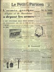 Petit Parisien Edition De Paris (Le) du 24/04/1941 - Couverture - Format classique