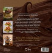 Délices de Nutella et pâtes à tartiner - 4ème de couverture - Format classique