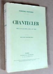 Chantecler. Pièce en quatre actes en vers. - Couverture - Format classique