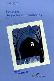 Le secret du professeur Amfortas - Intérieur - Format classique
