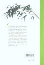 Bambous Comment Les Cultiver Facilement - 4ème de couverture - Format classique
