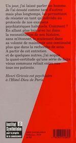 Naitre A La Folie - 4ème de couverture - Format classique
