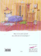 Zakia la grenouille désordonnée - 4ème de couverture - Format classique