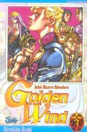 Jojo's bizarre adventure - saison 5 ; golden wind T.3 - Intérieur - Format classique