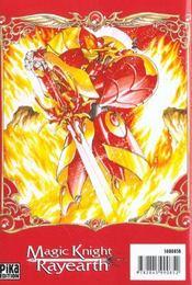Magic knight rayearth t.1 - 4ème de couverture - Format classique