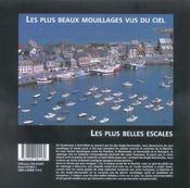 La Manche Et Les Iles Anglo-Normandes ; Les Plus Beaux Mouillages Vus Du Ciel - 4ème de couverture - Format classique