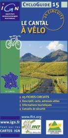 Le Cantal à vélo - Couverture - Format classique