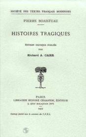Histoires tragiques - Couverture - Format classique