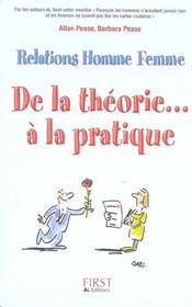 Relations Homme-Femme ; De La Theorie... A La Pratique - Intérieur - Format classique