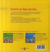 Les Fleurs Des Bois - 4ème de couverture - Format classique