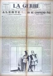 Gerbe (La) N°8 du 29/08/1940 - Couverture - Format classique