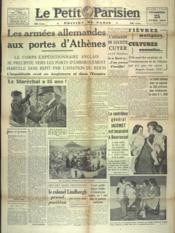 Petit Parisien Edition De Paris (Le) du 25/04/1941 - Couverture - Format classique