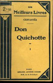 Don Quichotte. Tome 1. Collection : Les Meilleurs Livres N° 29. - Couverture - Format classique