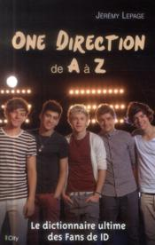 Vente livre :  One Direction de A à Z  - Jeremy Lepage