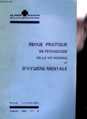 Revue Pratique De Psychologie De La Vie Sociale Et D'Hygiene Mental - Revue Trimestrielle N°3 - Couverture - Format classique