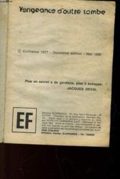 Vengeance D'Outre Tombe - Couverture - Format classique