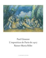 Vente  Paul Cézanne / Rainier Maria Rilke ; l'exposition de Paris de 1907  - Bettina Kaufmann