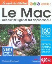 Le mac ; decouvrez tiger et ses apllications - Intérieur - Format classique
