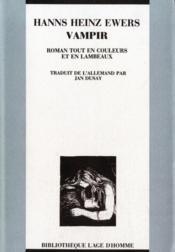 Vampir Roman Tout En Couleurs Et En Lambeaux - Couverture - Format classique