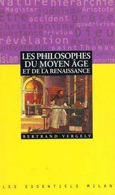 La Philosophie De La Renaissance Et Du Moyen Age - Intérieur - Format classique
