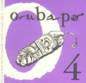 Oubapo Oupus 4 - Couverture - Format classique