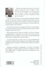 Consuelo de saint exupery ; la rose du petit prince - 4ème de couverture - Format classique