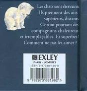 Petit Livre Pour Les Chats - 4ème de couverture - Format classique