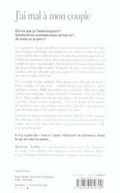 J'Ai Mal A Mon Couple - 4ème de couverture - Format classique