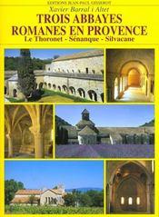 Trois abbayes romanes de provence - Intérieur - Format classique