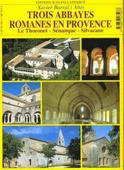 Trois abbayes romanes de provence - 4ème de couverture - Format classique