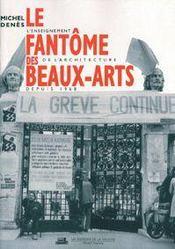 Le Fantome Des Beaux Arts - Intérieur - Format classique