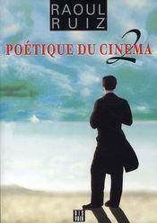 Poétique du cinéma t.2 - Intérieur - Format classique