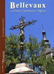 Bellevaux, coutumes et patrimoine religieux - Couverture - Format classique