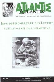 405. Jeux Des Nombres Et Des Lettres... - Intérieur - Format classique