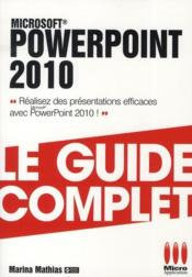 Vente livre :  Powerpoint 2010  - Mathias-M