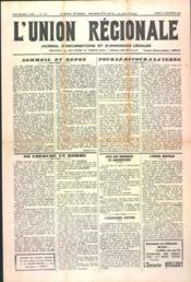 Union Regionale (L') N°1150 du 14/09/1940 - Couverture - Format classique