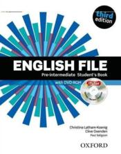 English file 3rd edition pre-intermediate: student's book & itutor pack - Couverture - Format classique