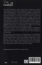 Revue Chimeres N.78 ; Soigne Qui Peut - 4ème de couverture - Format classique