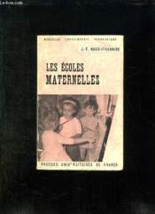 Les Ecoles Maternelles. - Couverture - Format classique
