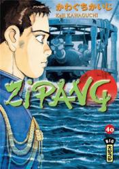 Zipang t.40 - Couverture - Format classique