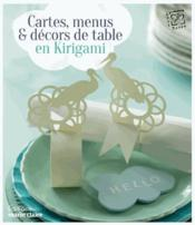 Vente  Cartes, menus & décors de table en kirigami  - Collectif