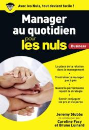 Vente  Manager au quotiden pour les nuls business  - Jeremy Stubbs