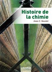 Histoire de la chimie - Couverture - Format classique